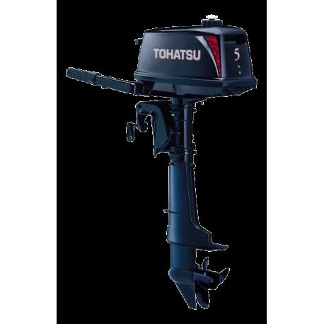 Двухтактный лодочный мотор Tohatsu M5B D