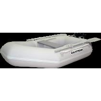 Надувная ПВХ лодка Golfstream Simple DD 300(A) с навесным транцем и надувным дном