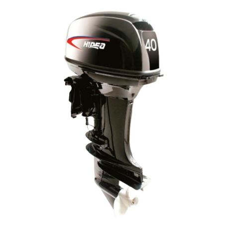 Двухтактный лодочный мотор HIDEA HD 40FEL