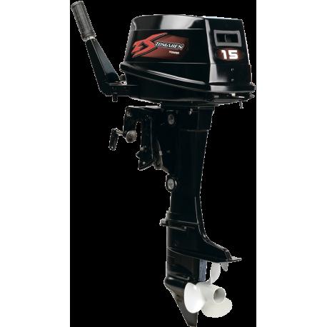Двухтактный подвесной лодочный мотор Zongshen T15BMS