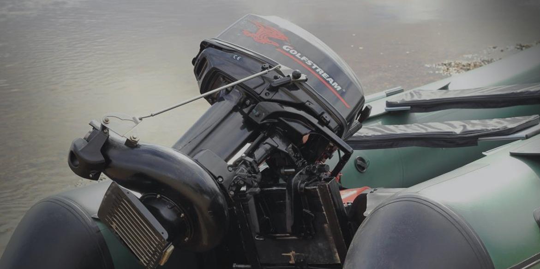 2-тактные водомётные моторы Golfstream